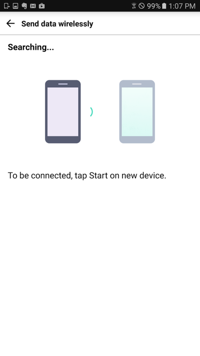 LG Backup (Sender)
