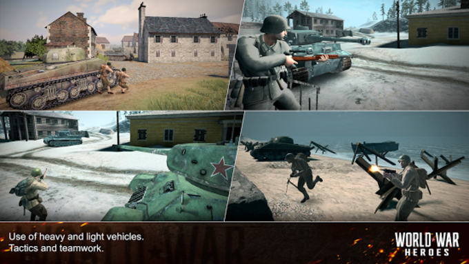World War Heroes: WW2 FPS Shooting game!