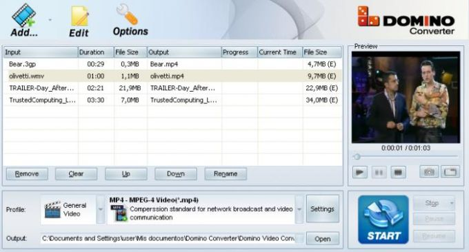 Domino Video Converter Pro