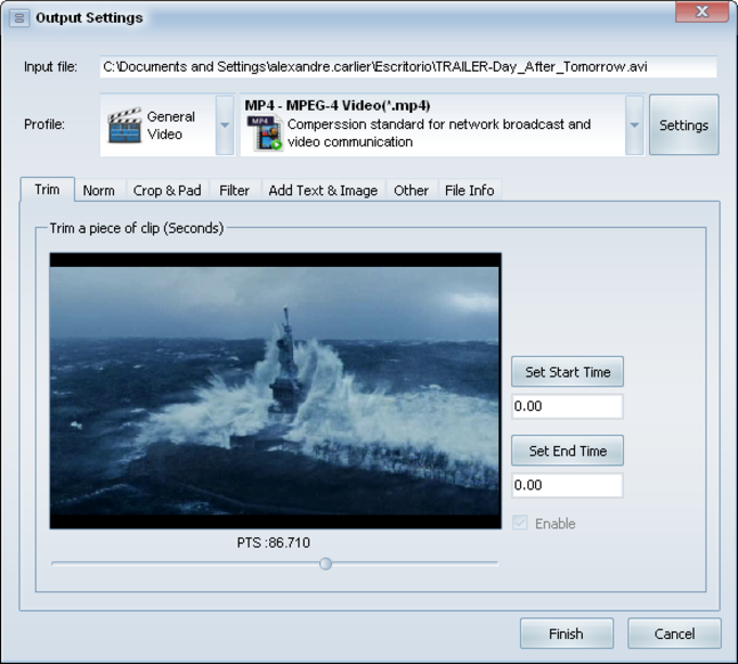 Domino MP4 Video Converter