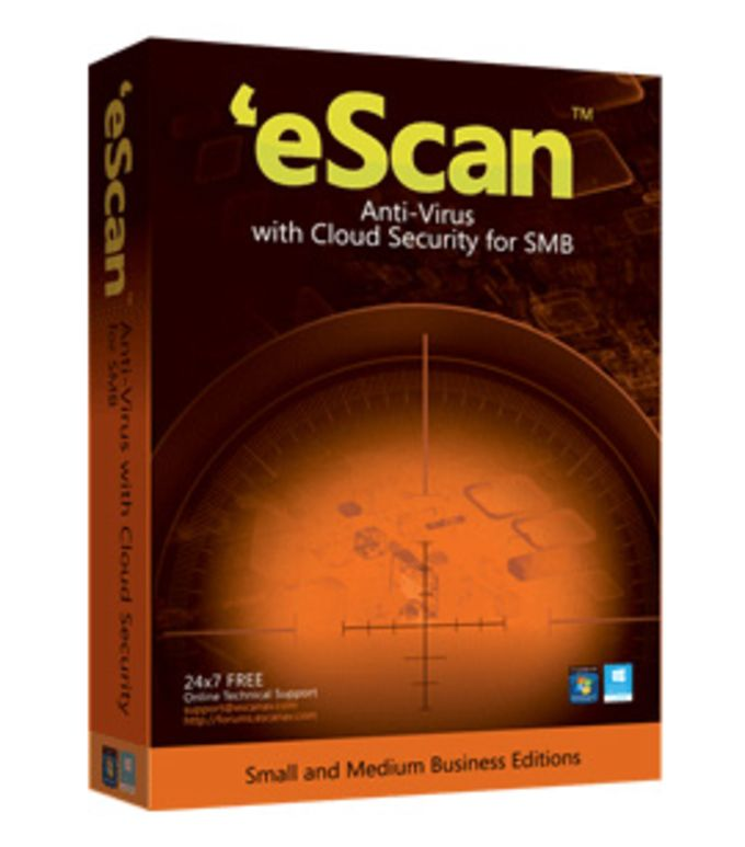 eScan Anti Virus with Cloud Security for SMB