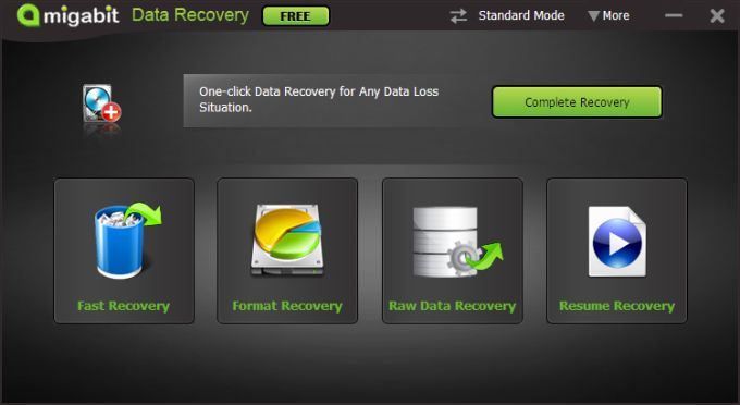 Amigabit Data Recovery Free