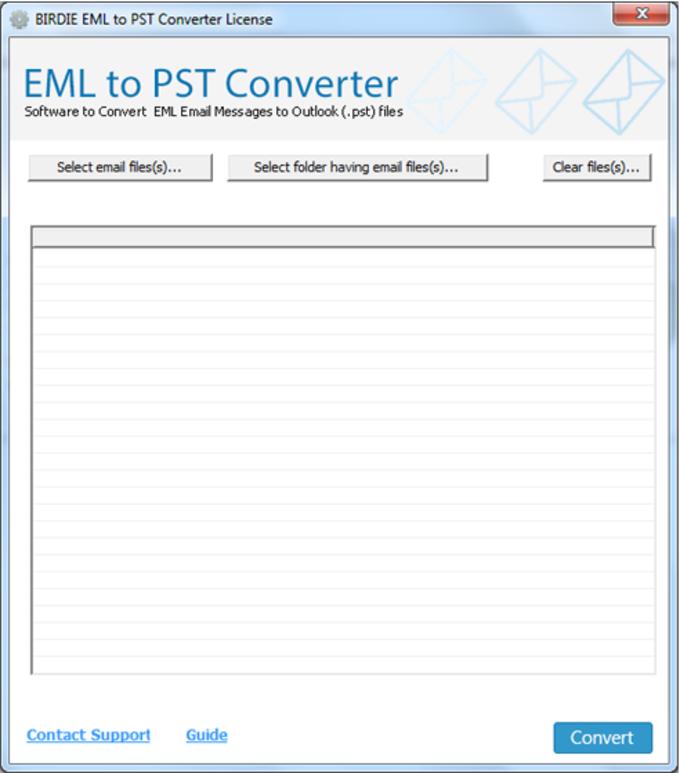 Birdie EML to PST Converter