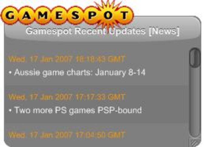 GameSpot RSS Reader
