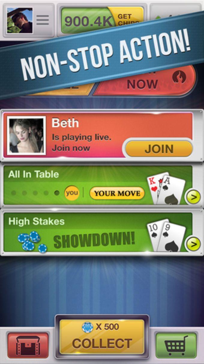 Poker Friends Social Texas Holdem