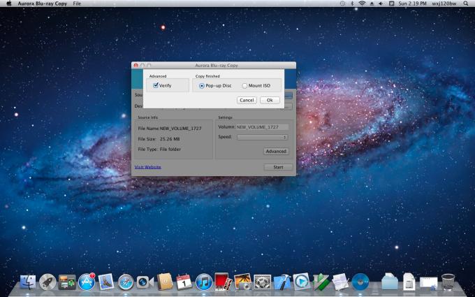 Aurora Blu-ray Copy for Mac