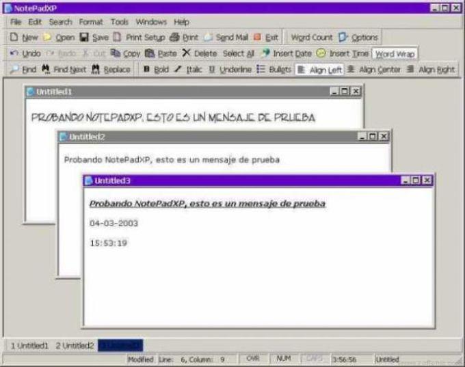 NotePadXP