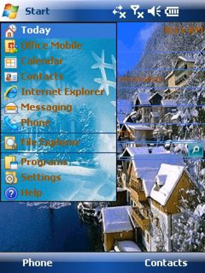 Winterscape 2 Theme