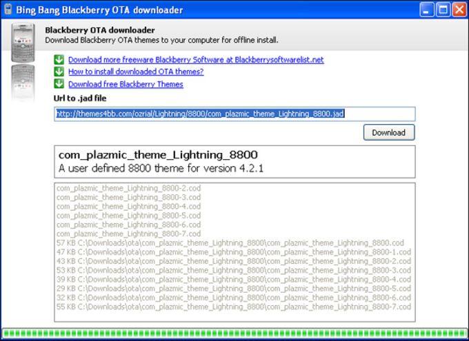 Blackberry OTA downloader