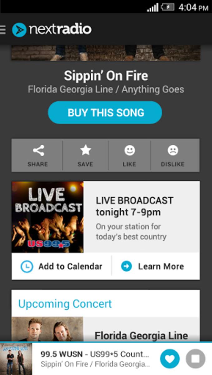 NextRadio - Free Live FM Radio