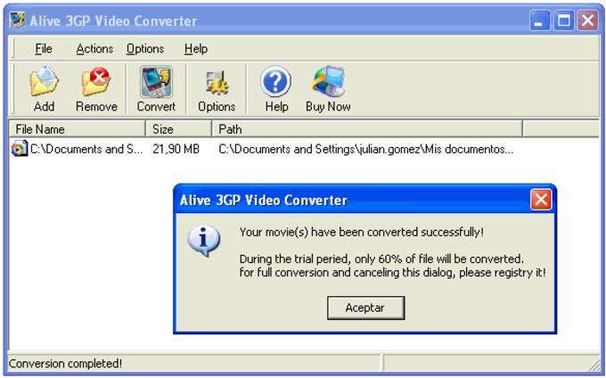 Alive 3GP Video Converter