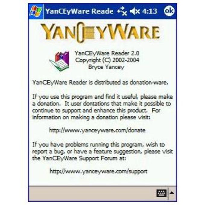 YanCEyWare Reader