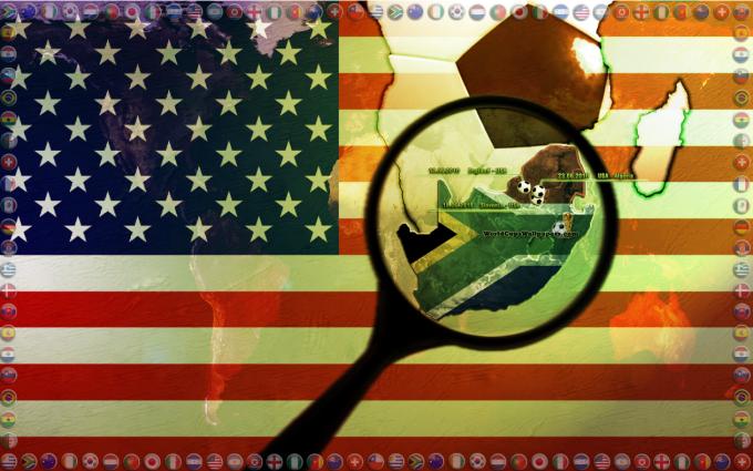 USA World Cup 2010 Widescreen Wallpaper