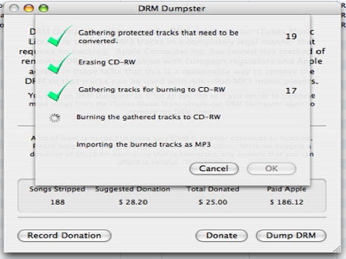 DRM Dumpster
