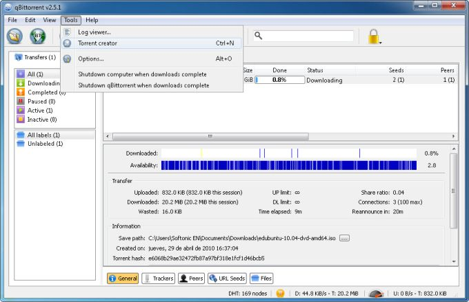 qbittorrent portable 400