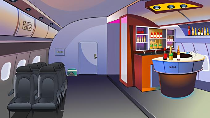 709 Escape From Plane