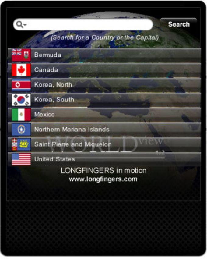 WORLDview Widget