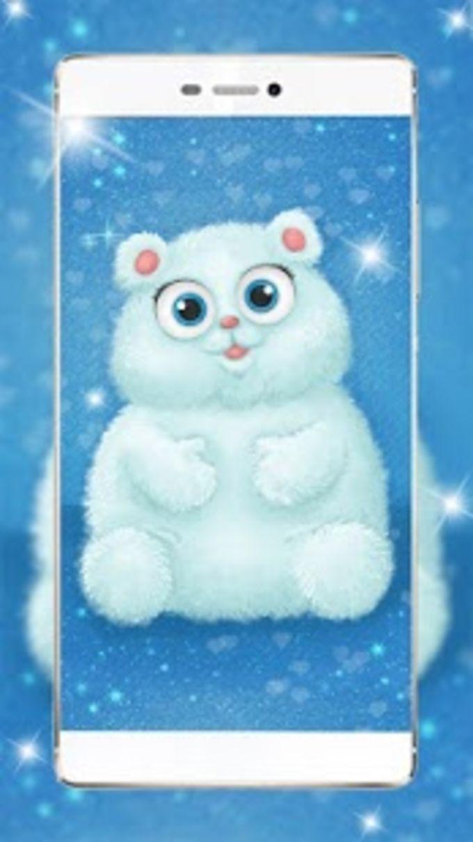Cute Fluffy Puppy Live Wallpaper