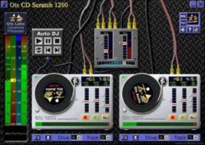 Ots CD Scratch 1200