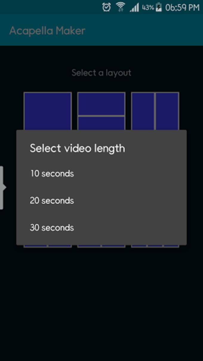 Acapella Maker - Video Collage
