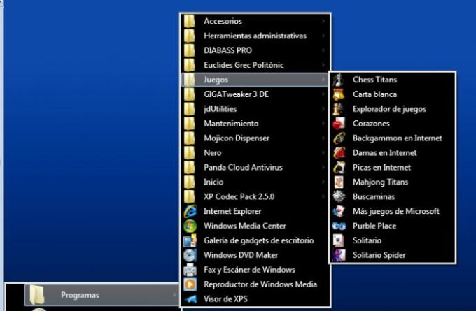Classic Windows Start Menu
