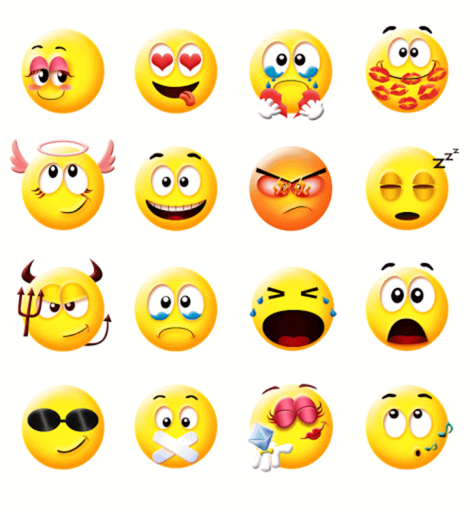 Cute Smiley Gif Emoji Sticker For Android Download