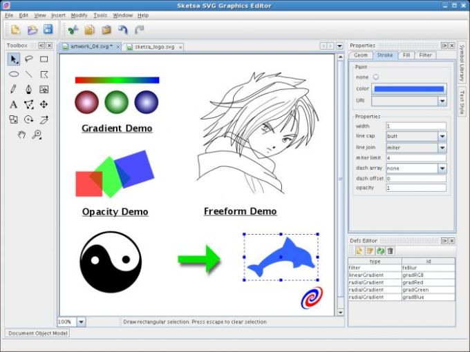 Sketsa SVG Editor