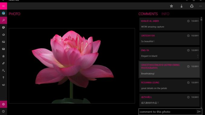 Perfect flicker - best client for Flickr