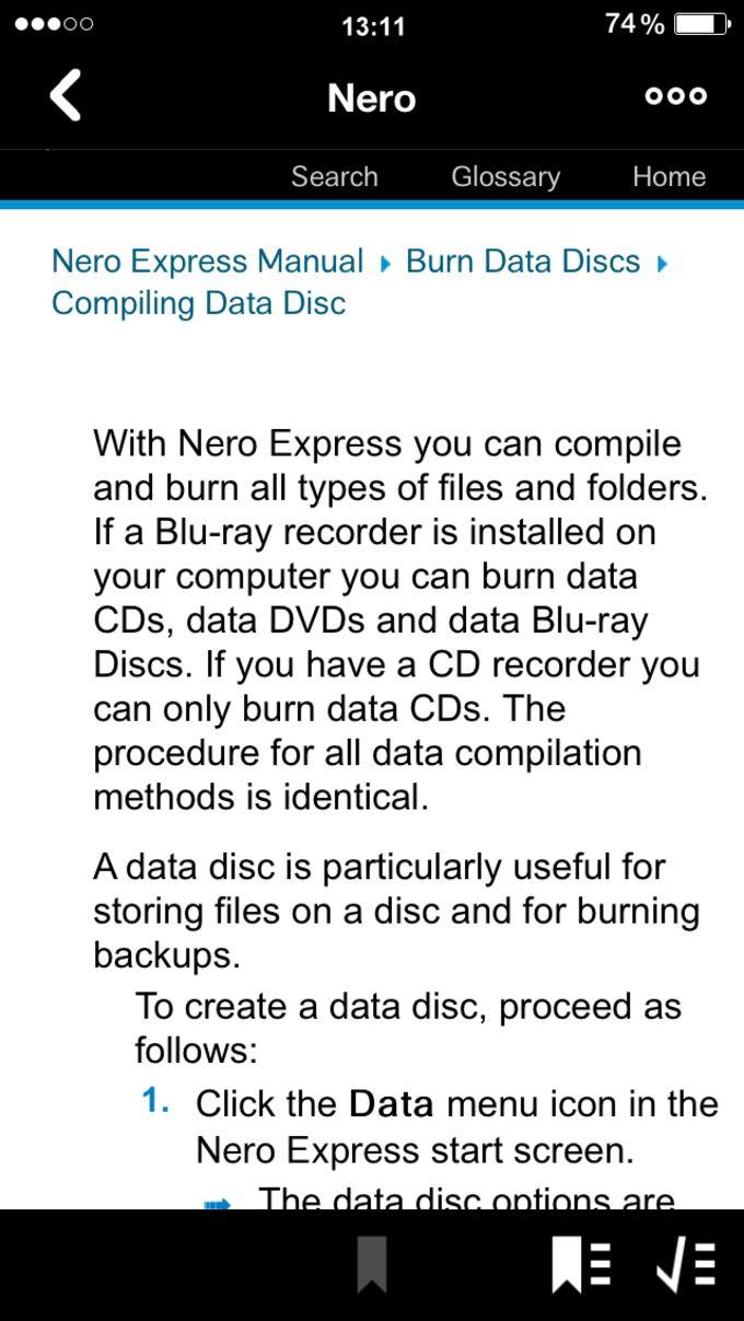 Nero Express Manual