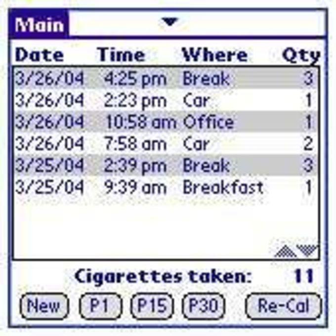 Cigarette Count