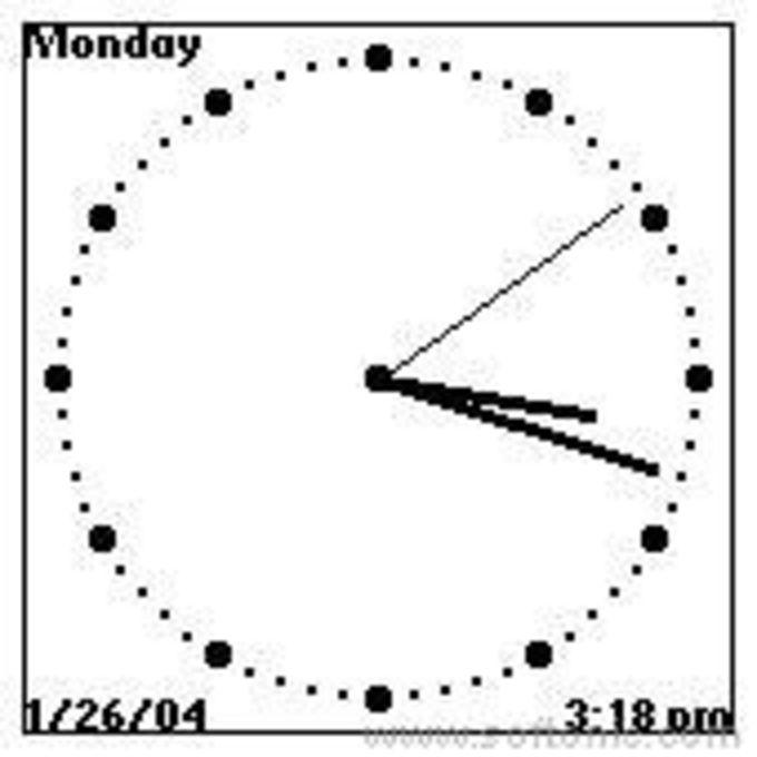 Analoge Uhr
