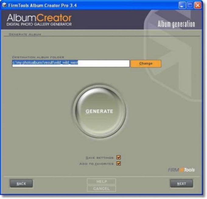 Firmtools AlbumCreator