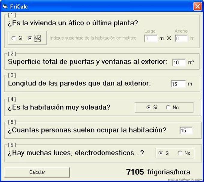 FriCalc