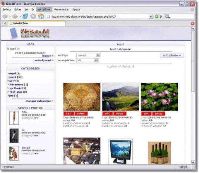 WEBalbum