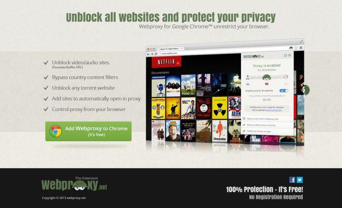 Webproxy.net - Unblock any website