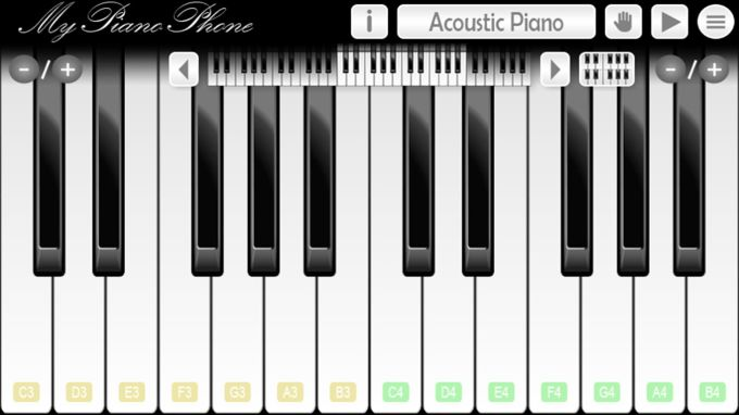 my piano phone - Piano Teaching Software
