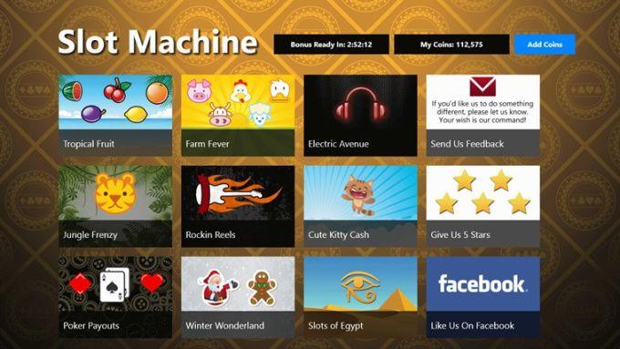 Slot Machine for Windows 10