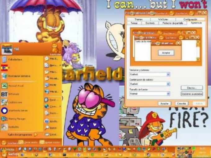 Garfield Visual Style