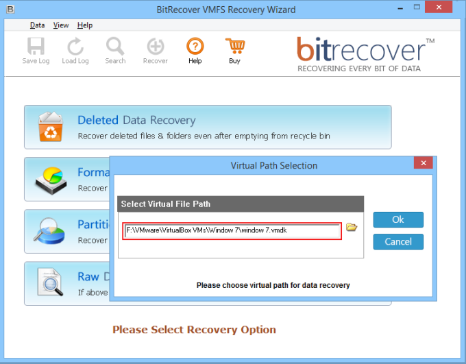 VMFS Recovery Wizard