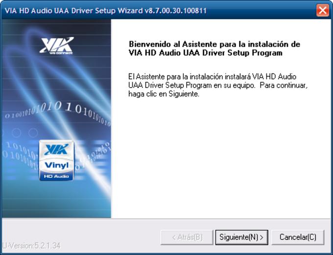 Via HD Audio Driver