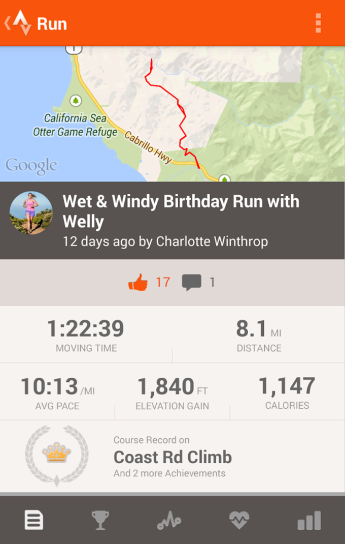 Strava Running and Cycling