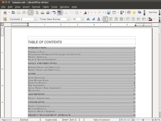 LibreOffice Fresh