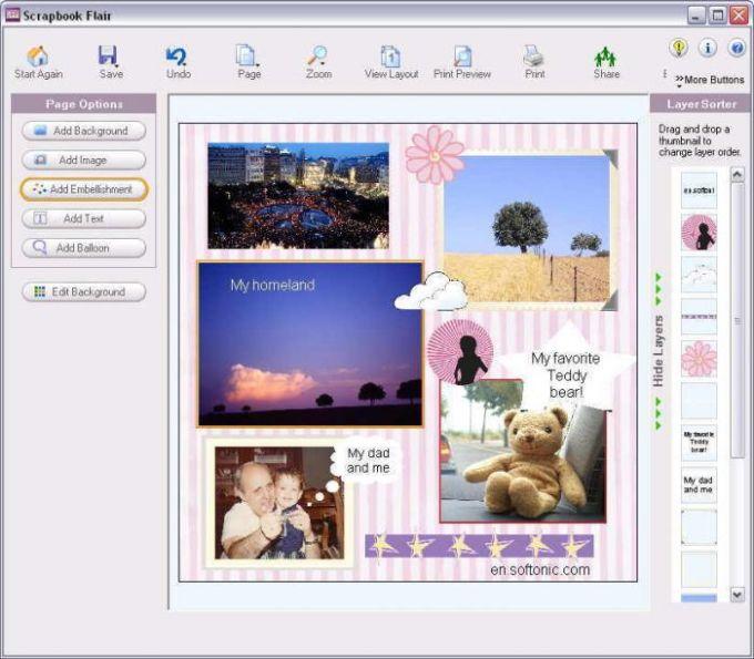 Scrapbook Flair Software