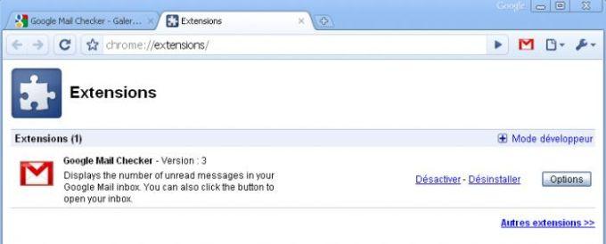 Google Mail Checker