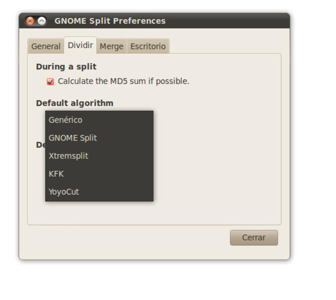 GNOME Split