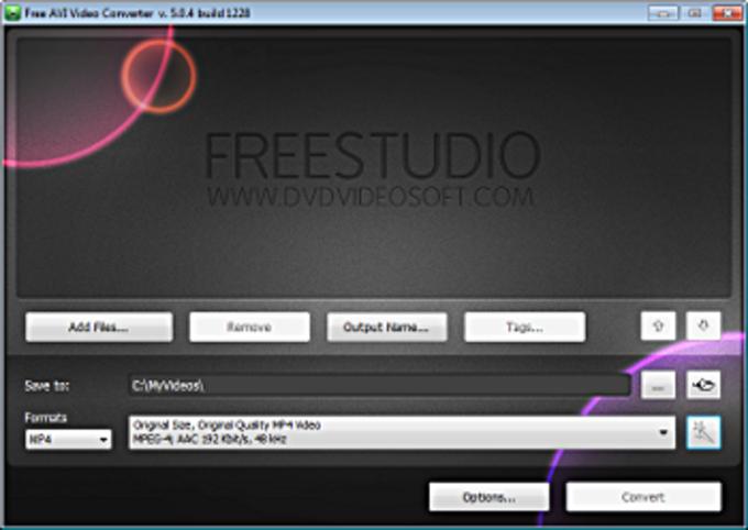 Free AVI Video Converter