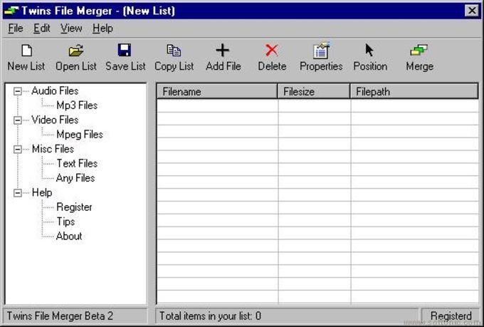 Twins File Merger