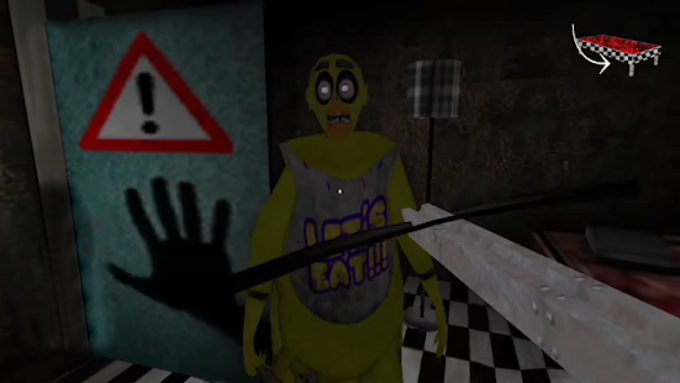 FNAF Granny mod is the scary and horror game