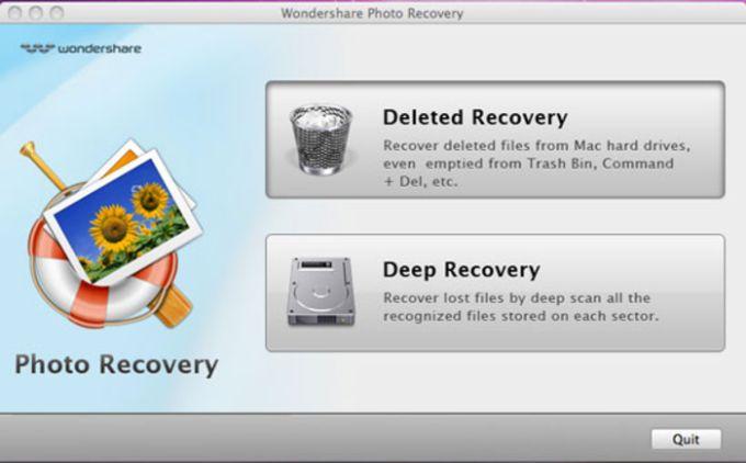 Wondershare Photo Recovery for Mac