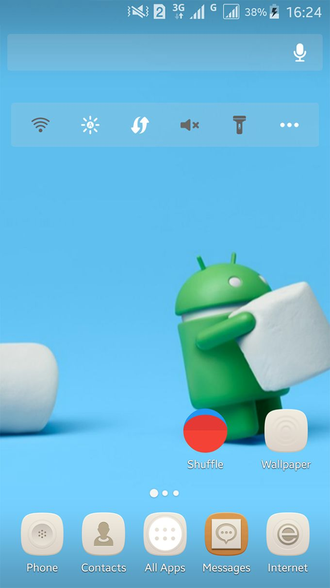 Marshmallow Android theme